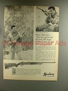 1967 Mossberg 800 Rifle Ad w/ Robert Stack
