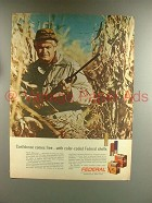 1967 Federal Shotgun Cartridge Shell Ad - Confidence
