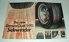 1968 General Dual S-90 Sidewinder Tire Ad!