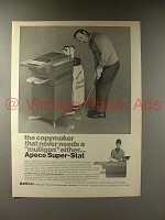 1968 Apeco Super-Stat Copier - Arnold Palmer - Never Mulligan