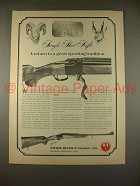 1968 Ruger No. 1 Single Shot Rifle Ad - Tradition