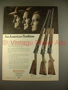 1968 Browning Automatic Shotgun Ad - American Tradition