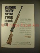 1968 Browning Automatic Rifle Ad - May Have to Wait