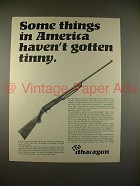 1968 Ithaca Model 37 Repeater Shotgun Ad - Tinny