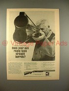 1968 Charles Daly Shotgun Ad - Straight Barrels