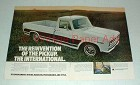 1969 2-pg International Harvester Pickup Truck Ad!