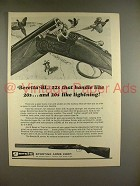 1970 Beretta BL Shotgun Ad - 12s Handle Like 20s