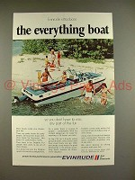 1970 Evinrude Dolphin Boat Ad - Everything!