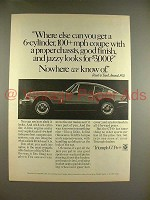 1970 Triumph GT-6+ Car Ad - Where Else Can You Get?