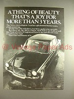 1970 Volvo 164 Car Ad - A Thing of Beauty That's a Joy