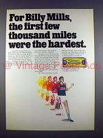 1971 Bank of America Ad w/ Billy Mills - Thousand Miles