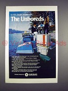 1971 Chrysler 120 Outboard Motor Ad - The Unboreds