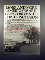 1971 Volvo Car Ad - Being Driven to This Conclusion