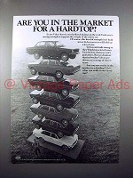 1971 Volvo Car Ad - In The Market for a Hardtop?