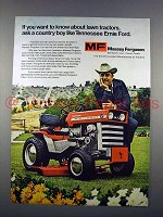 1972 Massey Ferguson Tractor Ad - Tennessee Ernie Ford