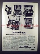 1972 Hasselblad Hasselbag 515, 511, 518, 565, 612 Ad!