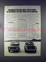 1972 Fiat 128 Car Ad - Biggest Small Car