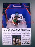 1983 Texas Instruments 99/4A Computer Ad - Bill Cosby - Use Your Head