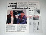 1984 Miracle Ear Ad w/ Chuck Yeager & Wally Schirra