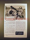 1947 U.S. Army 75-mm. Recoilless Rifle Ad!