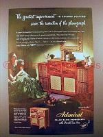 1947 Admiral FM-AM Radio-Phonograph Ad!
