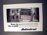1966 Admiral All World Transistor Portable Radio Ad