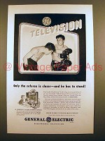 1948 GE Television Ad - Only the Referee is Closer