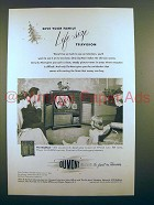1950 Du Mont Bradford Television Ad - Give Your Family Life-Size