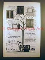 1952 Du Mont Whitehall Wickford BanBury Flanders TV Ad