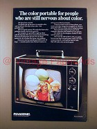 1967 Panasonic Buckingham CT-61P Television TV Ad!