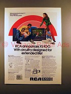 1971 RCA XL-100 Television Ad - Circuitry for Life