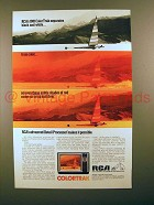 1981 RCA ColorTrak Television TV Ad - Crisp and Clear