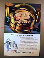 1961 General Telephone Ad - Charting Our Own Course