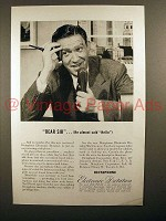 1946 Dictaphone Electronic Dictation Machine Ad!