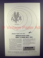 1951 Sinclair Oil Ad - American Airlines - Success!