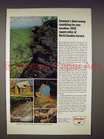 1968 Sinclair Oil Ad - North Carolina Forests