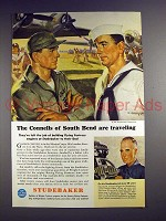 1944 WWII Studebaker Flying Fortress Ad - The Connells