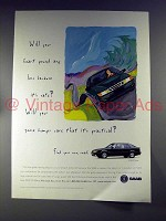 1996 Saab 9000CS Turbo Car Ad - Heart Pound?
