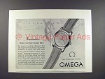 1952 Omega Seamaster Watch Ad!