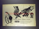 1958 Smiths A.358, F.639 Watch Ad - Douglas Bader
