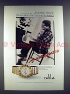 1987 Omega Constellation Watch Advertisement- Significant Moments