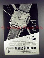 1952 Girard Perregaux Gyromatic Watch Ad!