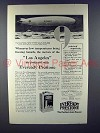 1928 Eveready Prestone Ad - USS Los Angeles Dirigible