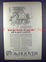 1923 Hoover Vacuum Cleaner Ad - 18-year-old Rugs
