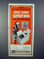 1970 Speed Queen SuperTwin Portable Washer Ad!