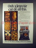 1982 Jenn-Air Grill-Range Ad - Can Do All This!