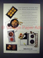 1992 Jenn-Air Expressions Collection Cooktop System Ad!