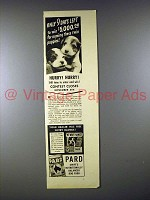 1939 Pard Dog Food Ad - Wire-Haired Terrier Puppies