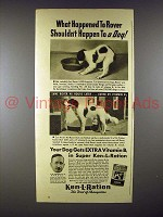1940 Ken-L-Ration Dog Food Ad - Happened to Rover