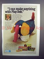 1973 Kenner Play-Doh Toy Ad - Can Make Anything!